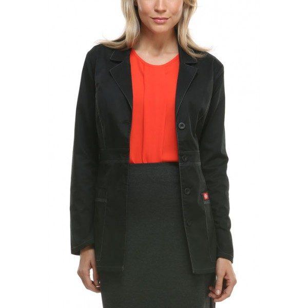 aec007773b7 Dickies Gen Flex 28″ Women's Lab Coat – Scrubs Direct