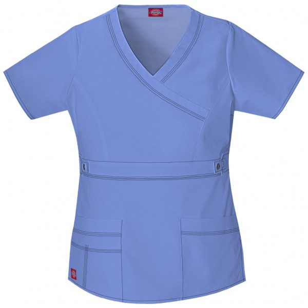 65cbfc87c56 Dickies Gen Flex Youtility Mock Wrap Top – Scrubs Direct