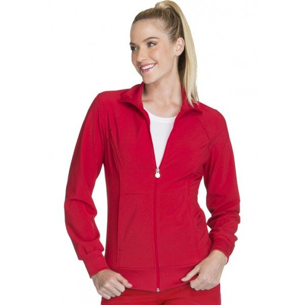 e3f45f9c569 Cherokee Infinity Antimicrobial Zip Front Warm-Up Jacket – Scrubs Direct