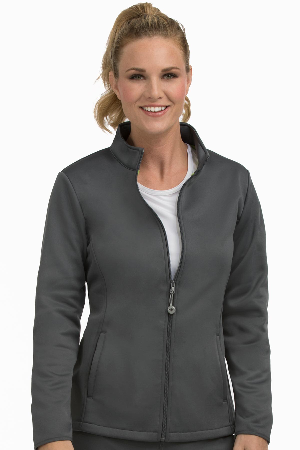 Med Couture Med Tech Women's Full Zip Front Jacket ...