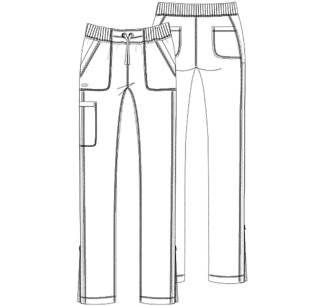 e2eb1d12f0c Dickies Dynamix Natural Rise Straight Leg Drawstring Scrub Pants. 🔍. $32.98