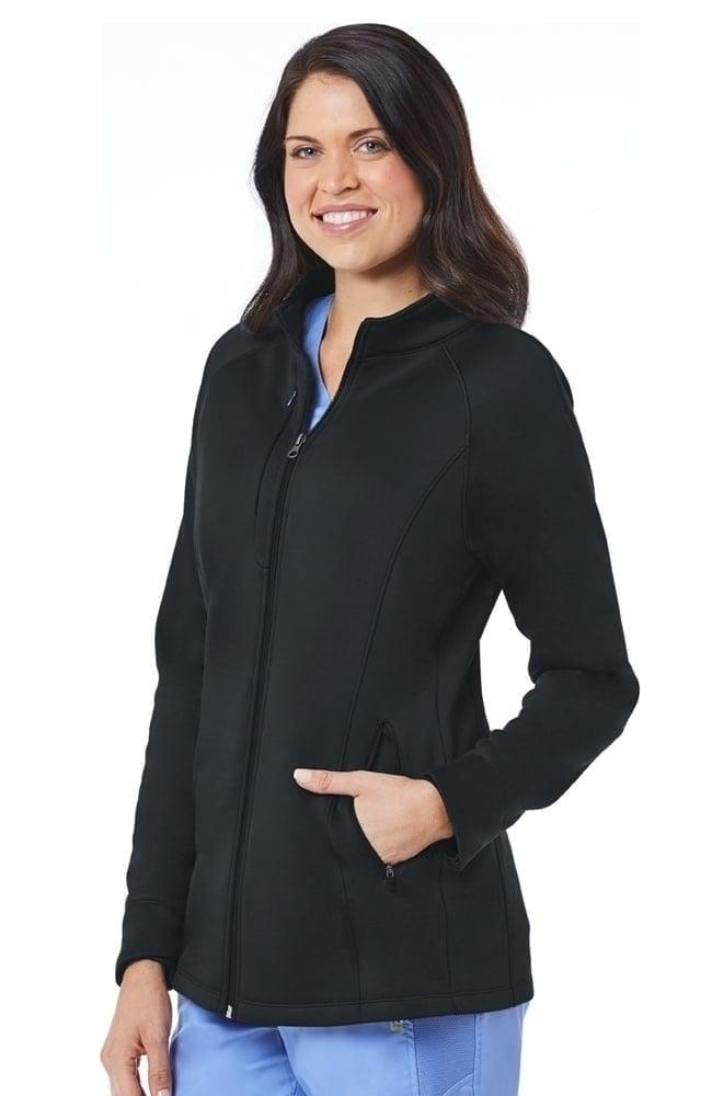 Blaze by Maevn Women's Warm-up Bonded Fleece Jacket ...